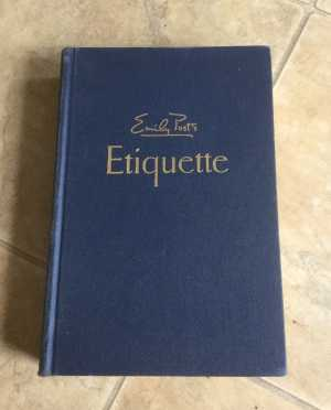 Etiquette by Emily Post Cover